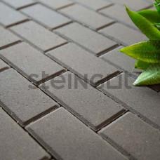 Тротуарная плитка Брусчатка 200*100*60 Серая (полный прокрас)