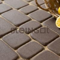 Тротуарная плитка Классика Темно-коричневая