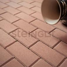 """Тротуарная плитка Брусчатка Steingot """"Прямоугольник""""  200*100*60 Бежевая (верхний прокрас)"""