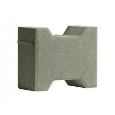 Тротуарная плитка 342 Механический завод Катушка 200х165х80 Серый