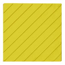 Тактильная Плитка диагональные рифы 500х500х50