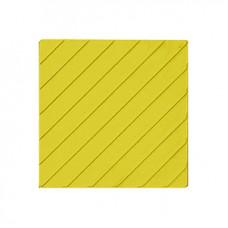 Тактильная Плитка диагональные рифы 300х300х50