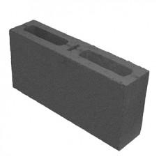 Перегородочный 2-пустотный пескоблок 390х190х90 мм
